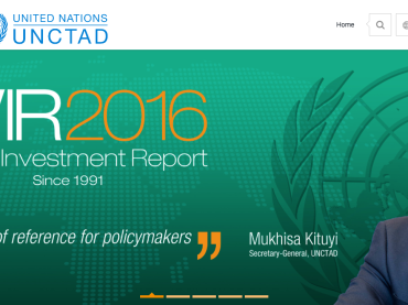 World Investment Report 2016: now available online