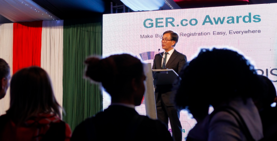 GER.CO Awards for Bhutan and Cameroon