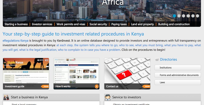 eRegulations_Kenya