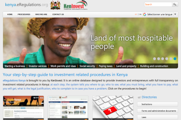 Number of visitors to Kenya eRegulations reaches new high