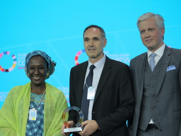 UNCTAD receives Policy Champion Award during the Global Entrepreneurship Congress