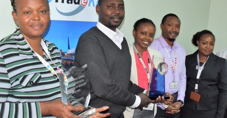 Kentrade scoops up Award for InfoTrade portal at Africa Public Service Day